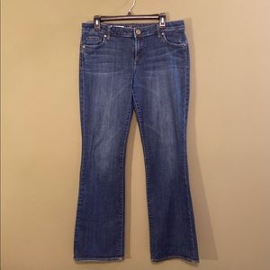 KUT from the Kloth FARRAH Baby Bootcut jeans 10